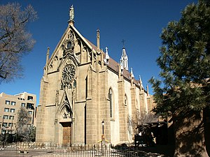 Santa Fe Historic District - Loretto Chapel, a Contributing Building to the Historic District