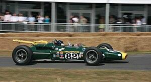 1965 Indianapolis 500 - Image: Lotus 38 at Goodwood 2010