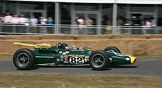 Len Terry - Lotus 38 at Goodwood 2010