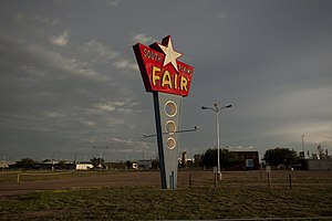 South Plains Fairgrounds - Image: Lubbock County South Plains Fair 2012