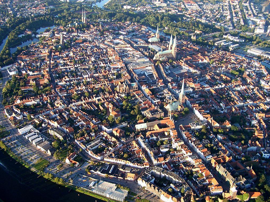 UNESCO-Weltkulturerbe Altstadt Lübeck, Panorama