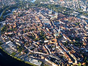 Schleswig-Holstein - The city of Lübeck was the centre of the Hanse, and its city centre is a World Heritage Site today. Lübeck is the birthplace of the author Thomas Mann.