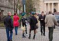 Lublin after president Lech Kaczyński's plane crash, Cathedral Square.jpg