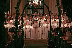 Lucia in Vaxholm's church.jpg