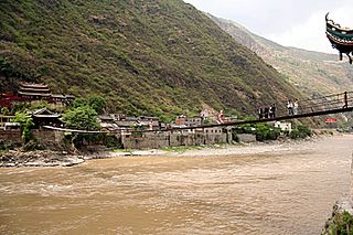 Luding County County in Sichuan, Peoples Republic of China