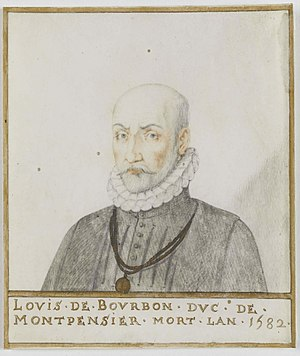 Louis, Duke of Montpensier - Image: Ludwik III de Montpensier