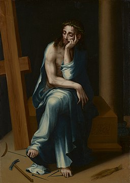 Luis de Morales (called El Divino) - Man of Sorrows - 62.24 - Minneapolis Institute of Arts