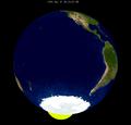Lunar eclipse from moon-1983Jun25.png