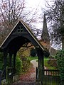 Lych Gate, Preston Candover - geograph.org.uk - 283869.jpg