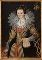 Målning. Porträtt, Katarina Gyllenstierna - Skoklosters slott - 87719.tif