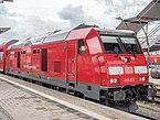 Mühldorf Bahnhof DBAG Class 245-012 220710.jpg