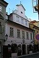 Měšťanský dům U bílého beránka (Malá Strana), Praha 1, Míšeňská 10, Malá Strana.JPG