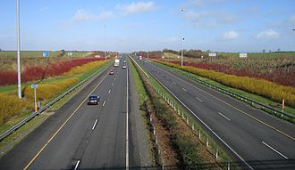 M1 motorway (Republic of Ireland) - M1 northbound in County Louth