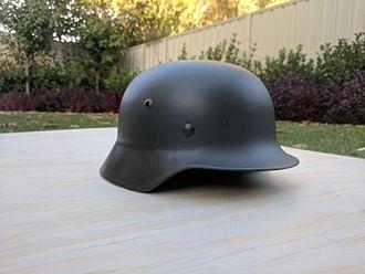 Stahlhelm - German Stahlhelm from World War II.