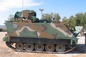 M901 ITV - Image: M901 TOW latrun 3