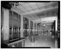 MAIN LOBBY TO NORTHEAST - U.S. Courthouse, 620 Southwest Main Street, Portland, Multnomah County, OR HABS ORE,26-PORT,7-12.tif