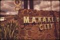MAKAKILO IS BUILT ON A DRY, ROCK SLOPE. ENVIRONMENTALISTS HAILED ITS DESIGNATION FOR URBAN DEVELOPMENT, MADE TEN... - NARA - 553942.tif