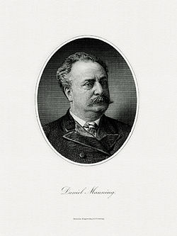 MANNING, Daniel-Treasury (BEP engraved portrait)