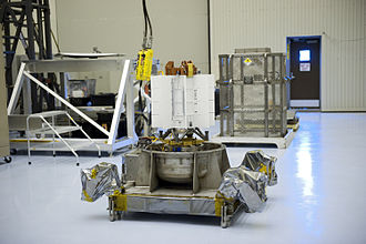 Dragonfly (spacecraft) - The multi-mission radioisotope thermoelectric generator of Mars Science Laboratory, sent to the surface of Mars to power that robotic rover