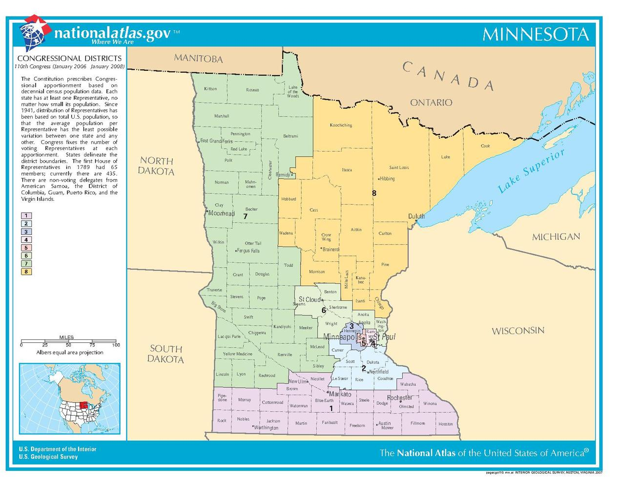 FileMN Congressional Districtspdf  Wikimedia Commons