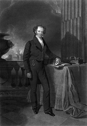 Presidency of Martin Van Buren - Portrait of Martin Van Buren