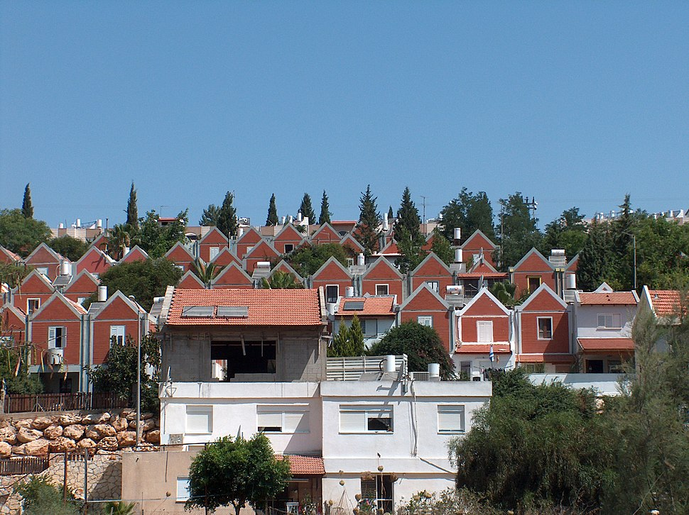 MaaleAdummim red-roof
