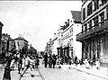 Maastricht, Boschstraat , opbrengen arrestant, 1902.jpg