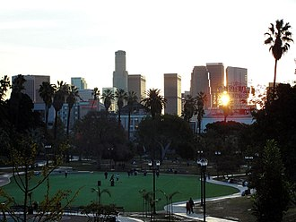 Los Angeles - MacArthur Park in Westlake