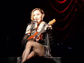 Brit Award for International Female Solo Artist - Two time winner Madonna