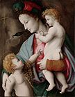 Madonna and Child with St John - Bacchiacca (1525) - After restoration.jpg