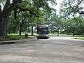 Magazine Street bus at Audubon Park, New Orleans, June 2021.jpg