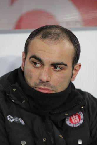 Mahir Sağlık - Sağlık with St. Pauli in 2012.