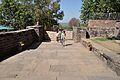Main Entrance - Rear Side - Buddhist Monuments Site - Sanchi Hill 2013-02-21 4546.JPG