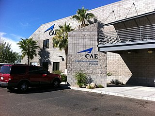 Aviation school owned by Canadian group CAE and located in Mesa on Falcon Field Airport