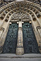 Main portal of the west facade of St. Vitus Cathedral, 2014-03-06.jpg