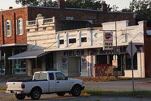 Comer, Georgia - Main street