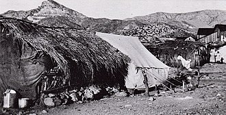 Helvetia, Arizona - Image: Makeshift Dwellings Helvetia Arizona 1902