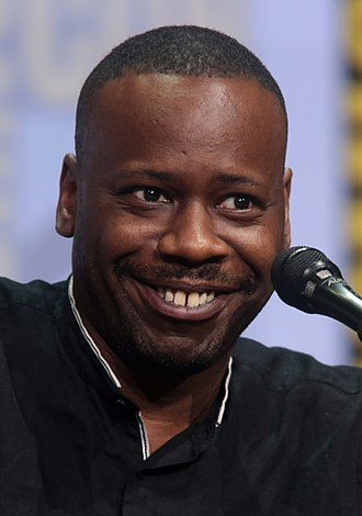 Malcolm Barrett (actor) - Barrett at the 2017 San Diego Comic-Con
