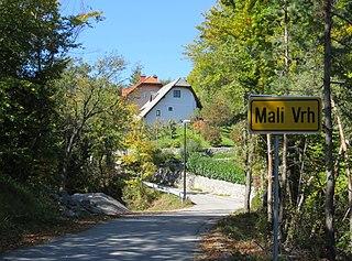 Mali Vrh pri Prežganju Place in Lower Carniola, Slovenia