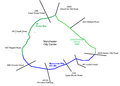 Manchester Inner Ring Road map.png
