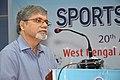 Manebendra Bhattacharyya Delivering Lecture - Quality Sportsperson - SPORTSMEDCON 2019 - SSKM Hospital - Kolkata 2019-03-17 0096.JPG