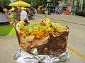 Mango chicken naan from Soho Road food truck (9432363526).jpg