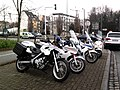 Manifestation Taxis 10-01-2013 Strasbourg 08 - Motos police nationale.jpg