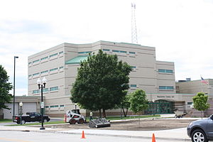 Manitowoc County, Wisconsin - Image: Manitowoc County Jail