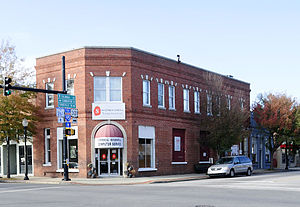 National Register of Historic Places listings in Clarendon County, South Carolina - Image: Manning Commercial Historic District