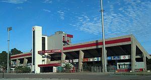 Manning Field at John L. Guidry Stadium - Image: Manning Field at John L Guidry Stadium Colonels Club Room