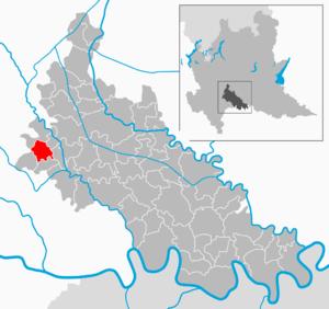 Caselle Lurani - Image: Map IT Lodi Caselle Lurani