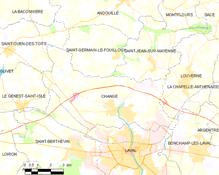 Fișier:Map commune FR insee code 53054.png