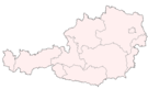 Map of Austria at city location empty.png