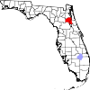 Map of Florida highlighting Putnam County.svg